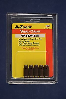 A-Zoom Snap Caps for 40 S&W Smith & Wesson azoom #15114