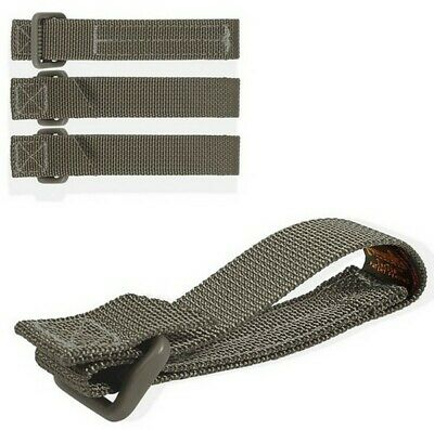 "Maxpedition 3"" Tac Tie 4 Pack Green 9903F Attach Accessories to Packs, Vests"