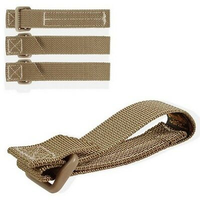 """Maxpedition 3"""" Tac Tie 4 Pack KHAKI 9903K Attach Accessories to Packs, Vests"""