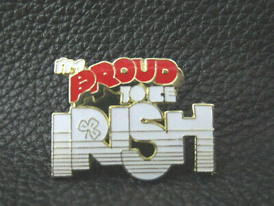 "Irish lapel pin ""IM PROUD TO BE IRISH"" New"