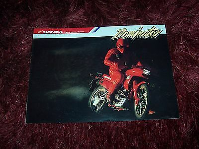 Catalogue / Brochure HONDA Dominator (Type F)  199? //