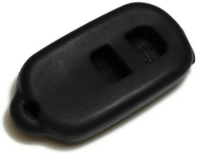 Black Key Fob Cover Jacket Silicon Pouch Bag fits Toyota / Scion