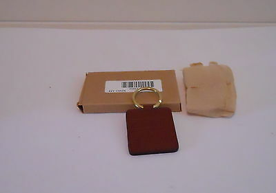Longaberger Leather Key Ring New In Box