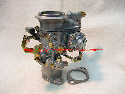NEW Jeep F Head Solex Carburetor. Willys CJ3b, M38A1, CJ5, F134 Carb. USA Seller