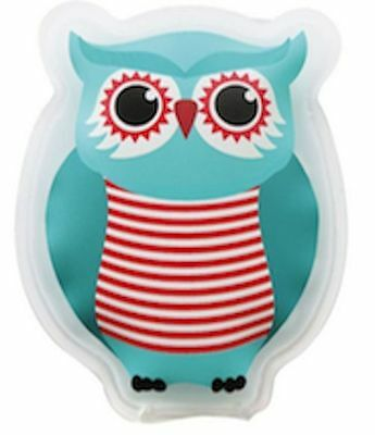 COOL it COOLIT KIDS ICE COLD  HOT PACK INJURY injuries REUSABLE OWL BRAND NEW