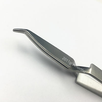 Dental Orthodontic Bracket/Tube Direct Bond Tweezer ---  1pc