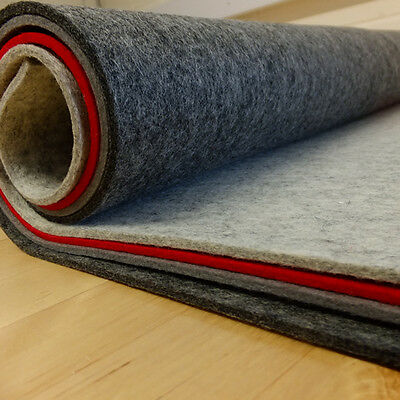 3mm - 4mm thick pressed 100% Wool Felt  60cm wide per 0.5 metre