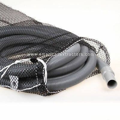 "Vacuum Hose 1.5"" Carpet Cleaning 25' Crushproof Bag extractor wand truckmount"