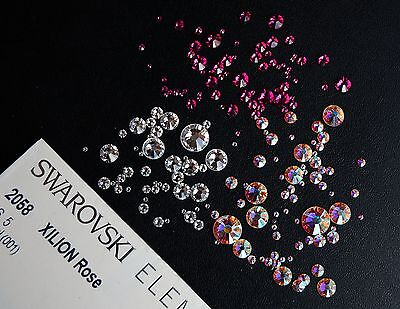 Swarovski Crystals  2058 Flat-Back - No Hot Fix Free Swarovski Pendant