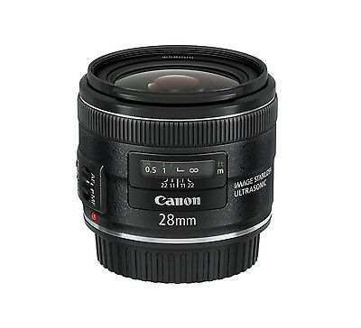 Brand NEW Canon EF 28mm f/2.8 IS USM Wide Angle Lens