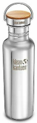 KLEAN KANTEEN 27oz 800ml Reflect Brushed Stainless BPA Free Water Bottle