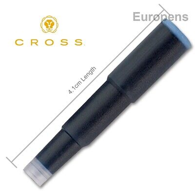 Cross Ink Cartridge Refills Standard Sized Fountain Pen Genuine  - Select Colour