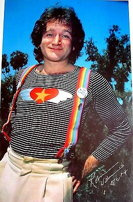 "Robin Williams as ""Mork"" Poster / Printed in 1979 / RARE"