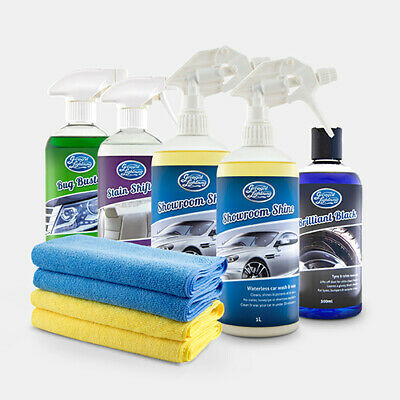 Greased Lightning SHOWROOM SHINE Waterless Car Cleaning Wash Wax & Polish
