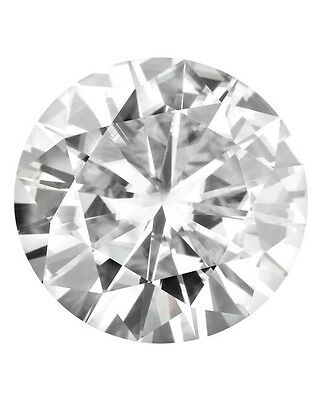 Lot of 10 Loose Round Forever Classic 2.5mm Moissanite = .05 CT Diamond w Cert
