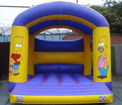 SSons Arched  Bouncy Castle 11.5FT X 11.5 FT Made To Order
