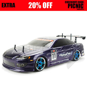 NEW HSP 1/10 Flying Fish 1 Drifting 2.4G RC On road Car 94123