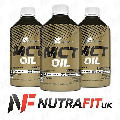 OLIMP MCT OIL 100% pure 400ml fatty acids diet weight management