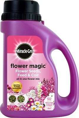 Miracle-Gro Flower Magic Pink and White 1kg Shaker