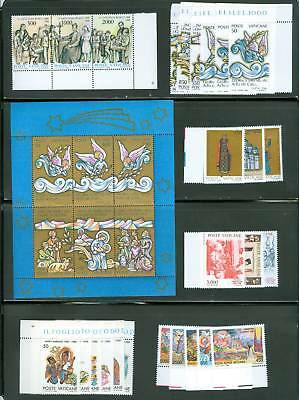 Vatican City 1988 Compete MNH Year Set