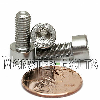M5 x 12mm - Qty 10 - DIN 912 SOCKET HEAD Cap Screws - Stainless Steel A2 / 18-8