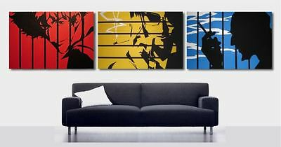 Cowboy Bebop OIL PAINTINGS 3 x 30x20 not posters or prints. Framing Available.
