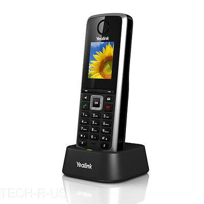 Yealink W52H 5 Line VoIP SIP Cordless Business HD IP DECT Phone Handset Only
