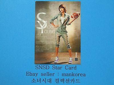 {SNSD} Girls' Generation Star Card S1 [SO003] SooYoung