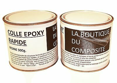 Kit de 625g de COLLE EPOXY bi-composants pour collages et joints congés.