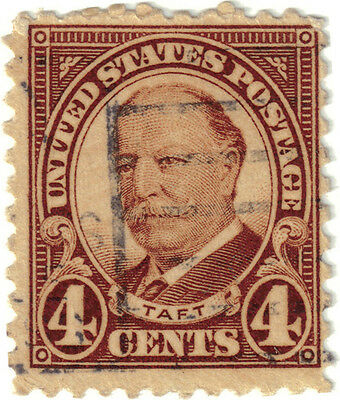 (USA101) 1930 4c brown Taft ow686