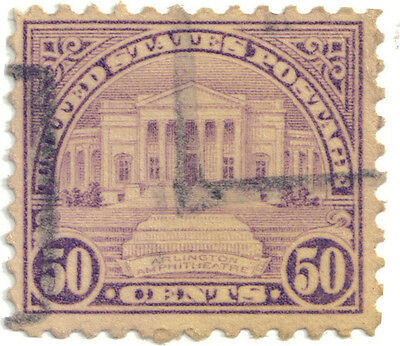 (USA103) 1922 50c lilac unknown soldiers tomb SG701