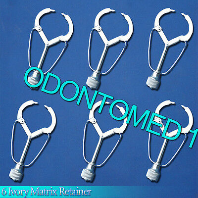 6 Ivory Matrix Retainer Dental Instruments ODM