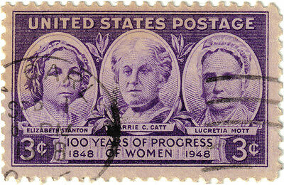 (USA285) 1948 3c violet American Women ow956