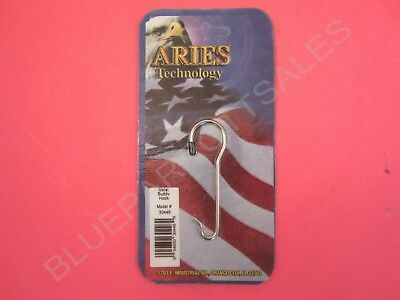 Aries 30448 Metal CB Radio Microphone Buddy Hook