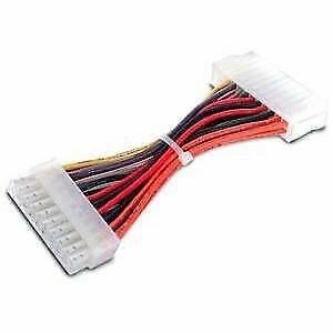 StarTech.com 6in 20 Pin Motherboard to 24 Pin ATX Power Adapter - M/F