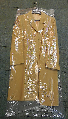 """Lot of 15 DRY CLEANER POLY GARMENT BAGS. 21"""" x 4"""" x  52"""" Brand NEW Plastic bags"""