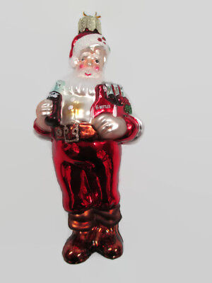 Coca Cola / Kurt Adler Santa Ornament - BRAND NEW!