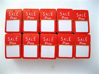 "1000 PCS. 1-1/4"" W X 1-7/8 H  Special Price Garment  Price Hanging  Lables  Tags"