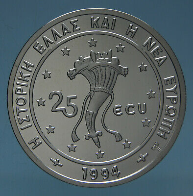 Grecia 25 Ecu 1994 Partenone Proof