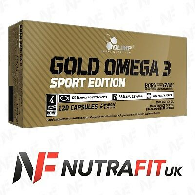 OLIMP GOLD OMEGA 3 MEGA CAPS SPORT EDITION fish oil fatty acids EPA DHA