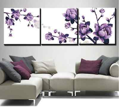 Free Shipping New Dreamlike Purple Flower Counted Cross Stitch Kits Uncompleted