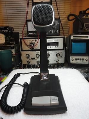ASTATIC 878 CERAMIC DESK POWER MIC, CLEAR AUDIO, TEST PROVEN ON MANY RADIOS!!