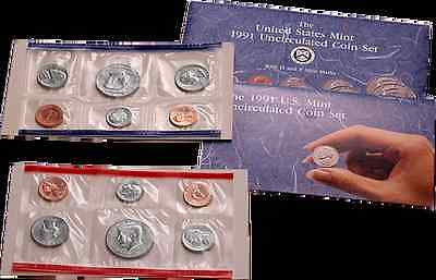 1991 U.S. Mint Set - 10 coin set