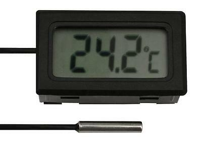 LCD Digital Thermometer Kabellänge: 1m 2m 3m 5m 7m 10m Digitalthermometer