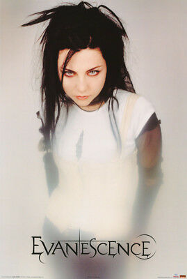 Poster :music : Evanescence - Amy Lee - White Dress - Free Ship #24-184  Rc38 J