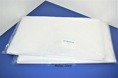 200 CLEAR 16 x 20 POLY BAGS PLASTIC 1 MIL OPEN TOP FLAT