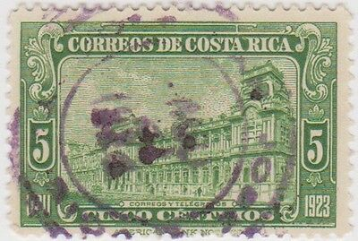 (CR31) 1923 Costa Rica 5c green PO san Jose ow141