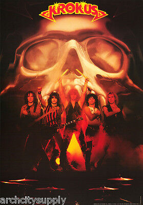 Poster :music: Krokus - All 5 Posed - Free Shipping !     #8059     Rap121 A