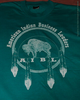 American Indian Native Business Leaders T-Shirt Men's XL Unisex 48 inches