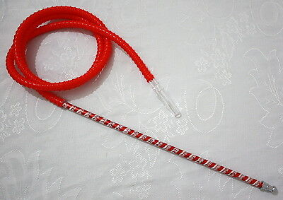 RED Washable Hookah Pipe Hose For - Hooka Shisha Nargila Narguila Sheesha Huka